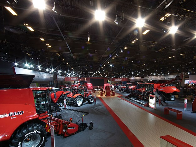 The Case IH stand at sima 2019