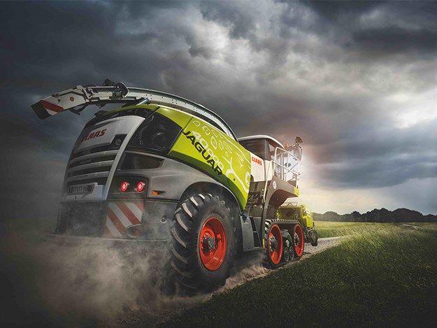 The 40,000th Claas Jaguar