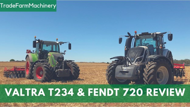 Valtra T234 and Fendt S4 720
