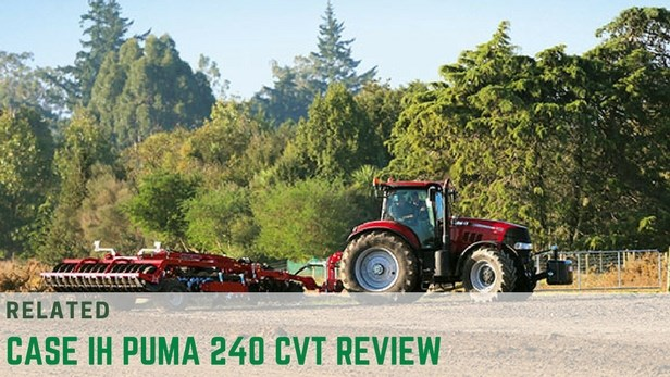 case ih 240 cvt tractor review