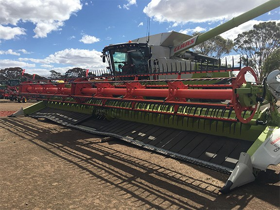 The flexible front of the Claas Convio 1230 Flex Cutter Bar has proven popular