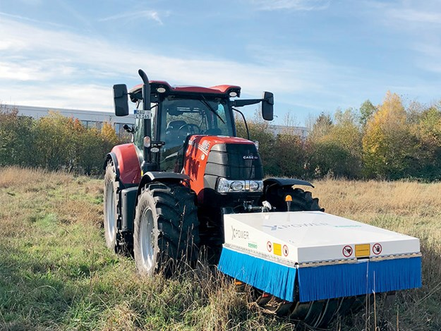 Case IH to market new electroherbicide technology