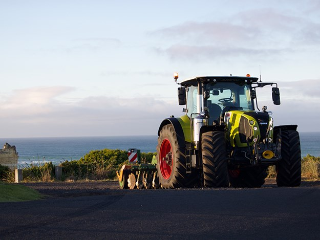 The Claas Arion 600 series is expected to be a good seller