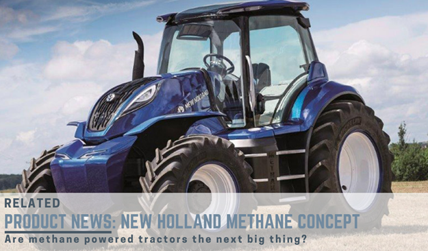 New Hollands methane powered concept