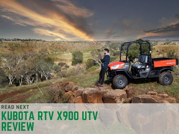 Kubota RTV-X900 utv side-by-side