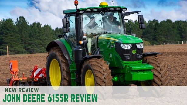 John Deere 6155R tractor review