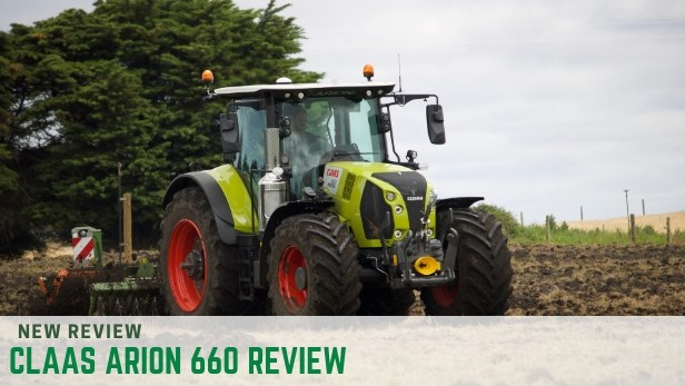 Claas Arion 600 series tractor review