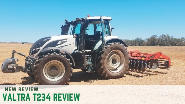 Valtra T234 tractor review