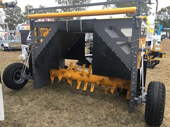 EZ Compost Windrow Turner EZ-2700 at Farmfest 2019