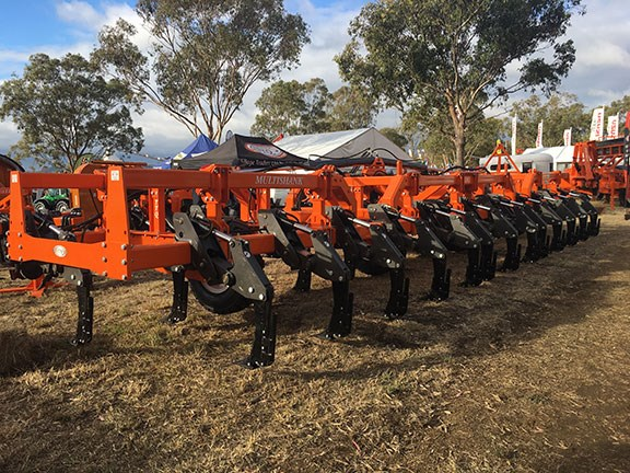 TTQ 25 tine deep ripper at Farmfest 2019