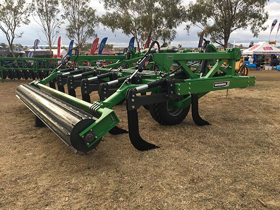 Gessner 6m heavy duty deep ripper at farmfest 2019