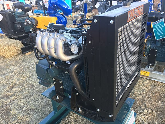 Kubota WG 3800 engine