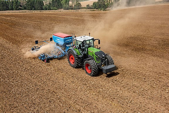 A new large tyre has been specially developed for the new Fendt 900-series