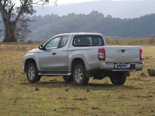 The Titon's ground clearance is good and it has the tightest turning circle of its competitors