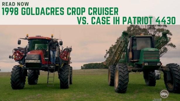 Goldacres crop cruiser vs. Case IH Patriot sprayer