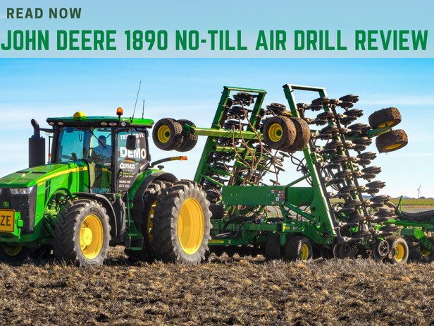 John Deere 1890 No-Till Air Drill review