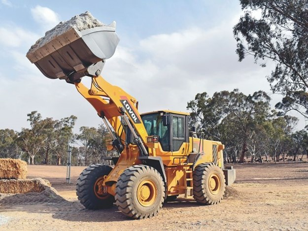 The Lovol FL958H wheel loader is a favourite for construction, contractors and large farming