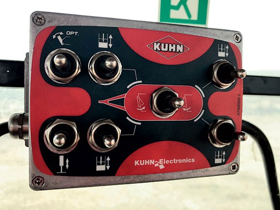 The Kuhn Euromix controller