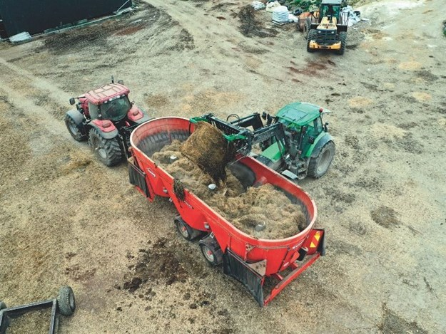 The Kuhn Euromix 3370 has been providing valuable times savings per day