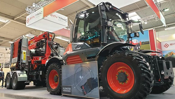 Syntrac tractor at Agritechnica
