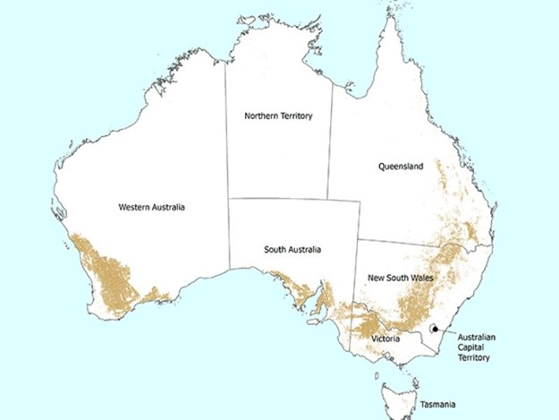 Australia cropping land use