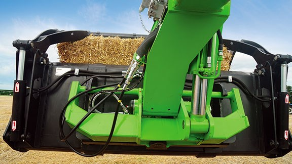 The Merlo has an impressive max lifting height of 7.1m