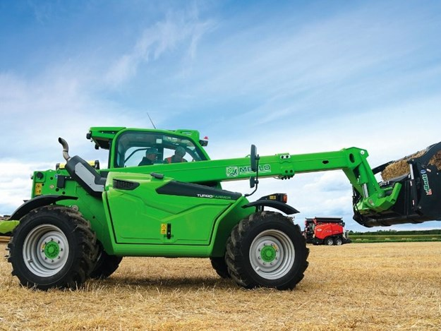 The Merlo Turbo Farmer is compact, powerful and versatile