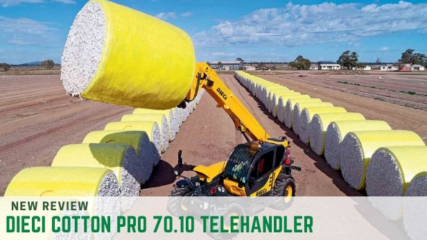 DIECI COTTON PRO 70.10 TELEHANDLER review