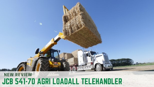 JCB 541-70 AGRI LOADALL TELEHANDLER review