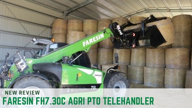 FARESIN FH7.30C AGRI PTO TELEHANDLER review
