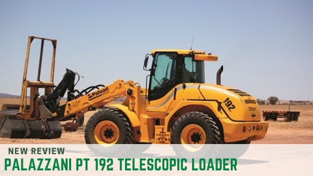 PALAZZANI PT 192 TELESCOPIC LOADER review
