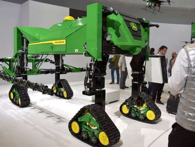 It's not for sale yet, but John Deere's autonomous robotic sprayer provides us with a look at the future