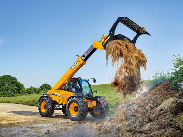 The new 542-70 Agri-Super Telehandler, available from JCB dealers now