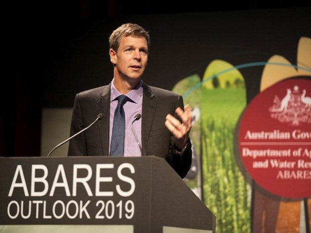 ABARES acting executive director Peter Gooday