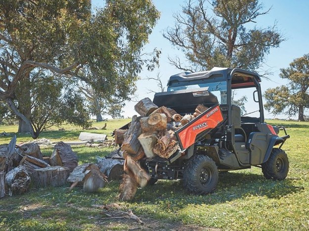 Kubota RTV-XG850 all models offer optional electric-over-hydraulic tray tilt