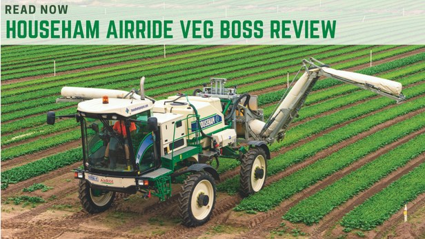 Househam Airride Veg Boss self propelled sprayer review