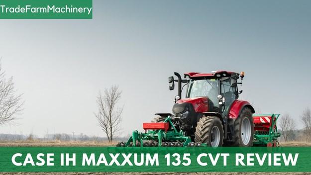 Case IH Maxxum 135 CVT review test