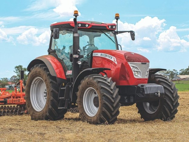 The McCormick X7 front on in a paddock in Queensland