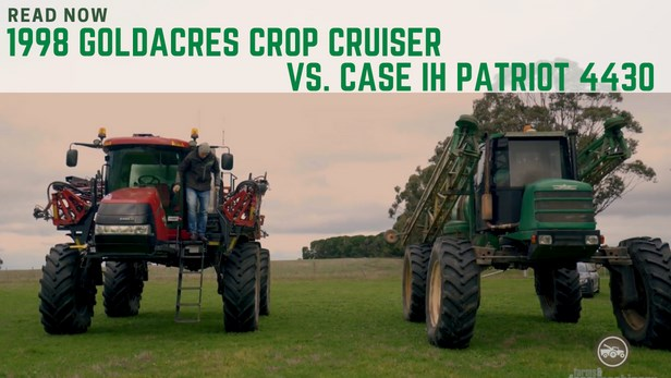 Case IH Patriot vs. Goldacres Sprayer Crop Cruiser