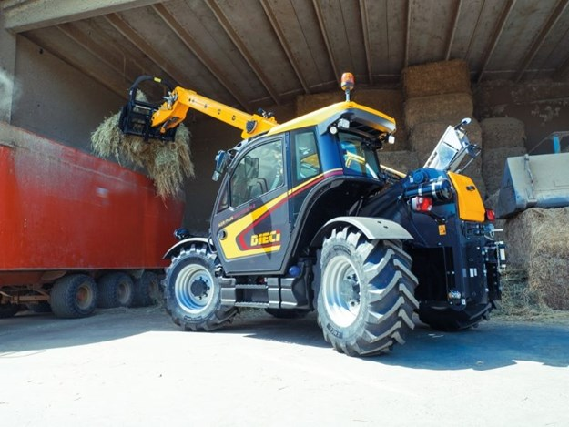 The new Dieci Agriplus 42.7 VS evo 2 telehandler