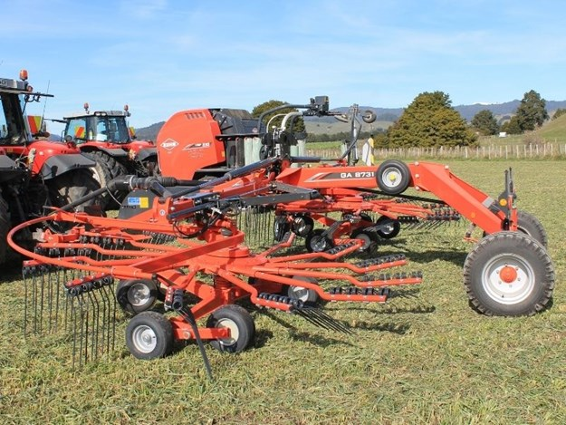 The Kuhn GA8731 rake would suit a large number of contractors says our expert reviewer Mark Fouhy