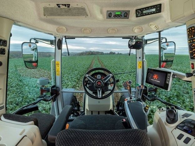 The New MF 5s tractor range has a new interior