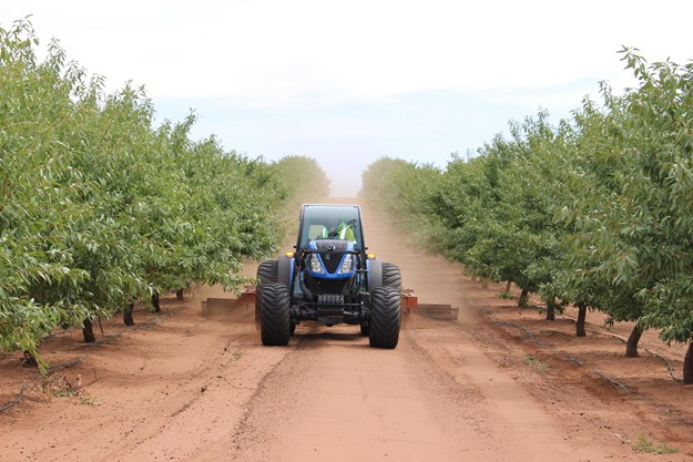 The New Holland T4 FNV specialty tractor range