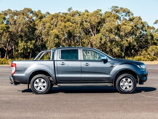 The Ford Ranger XLT is a beast