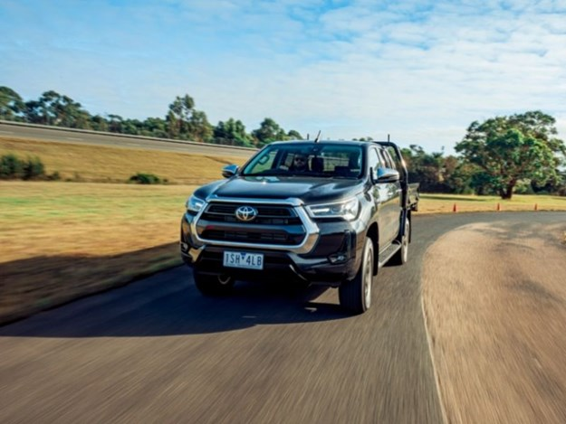 The Toyotoa Hilux is still a major seller in Aus