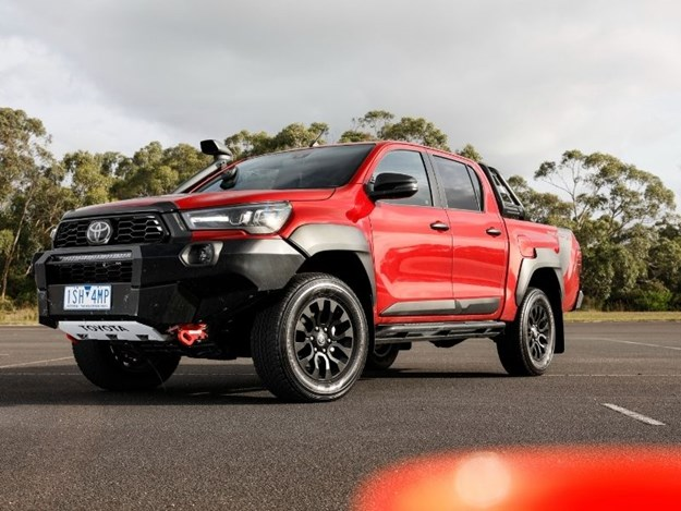 The Hilux Rugged