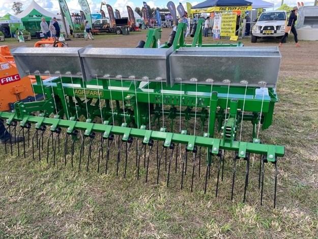 The Agrifarm Agrivator AV Series Aerator on display on facebook