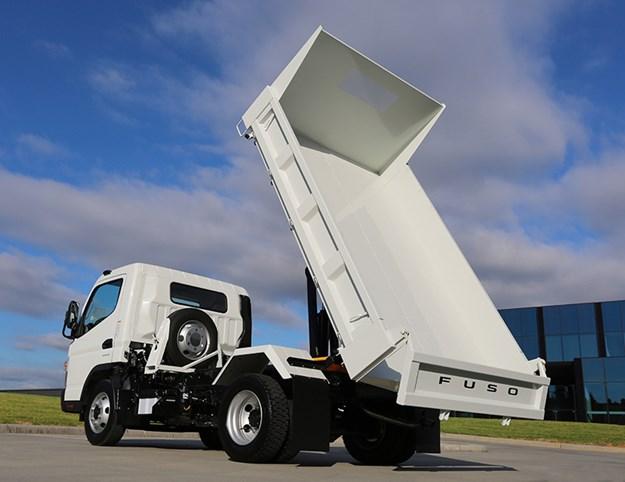 Fuso Wide Cab Canter Tipper truck