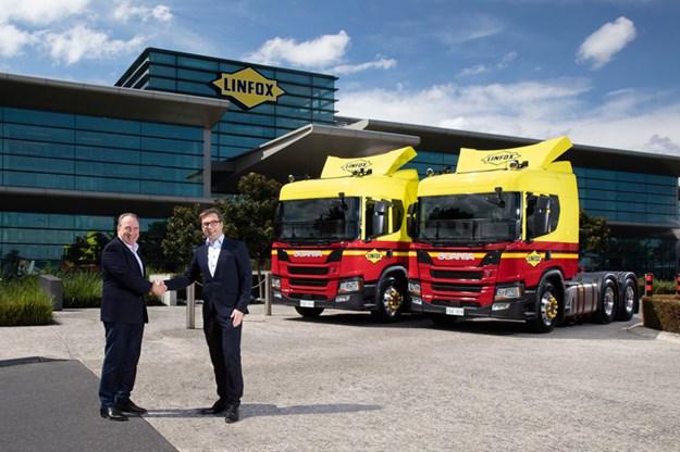 Linfox-Scania
