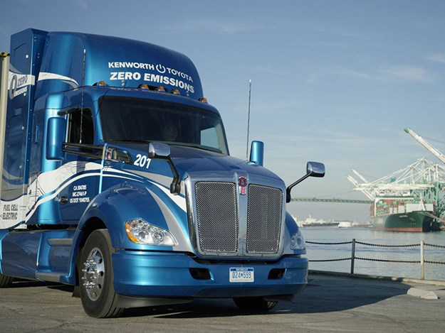 Kenworth Toyota electric truck